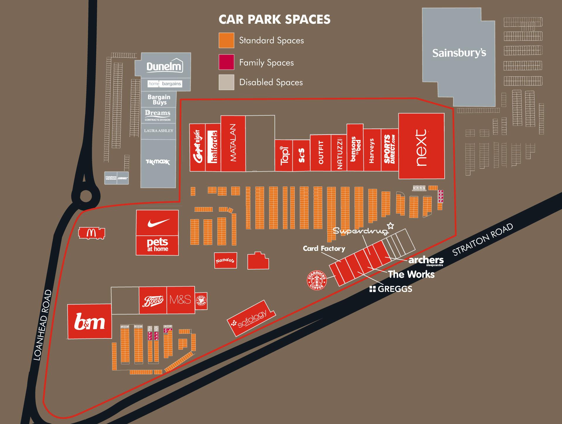 Parking   Straiton Retail Park