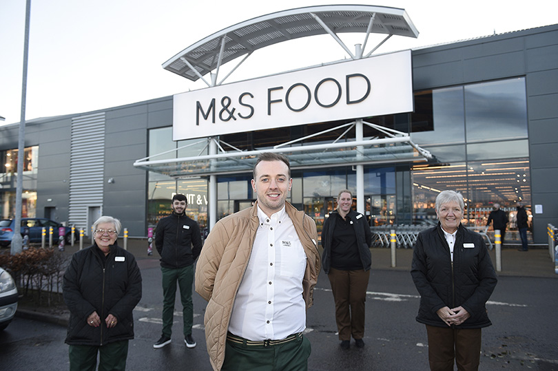 Pic Greg Macvean 02/12/2020M&S Food Hall opening at Straiton, Edinburgh